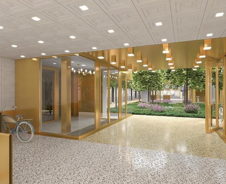Hall du programme immobilier neuf Ateliers Vaugirard chapitre 2 à Paris 15