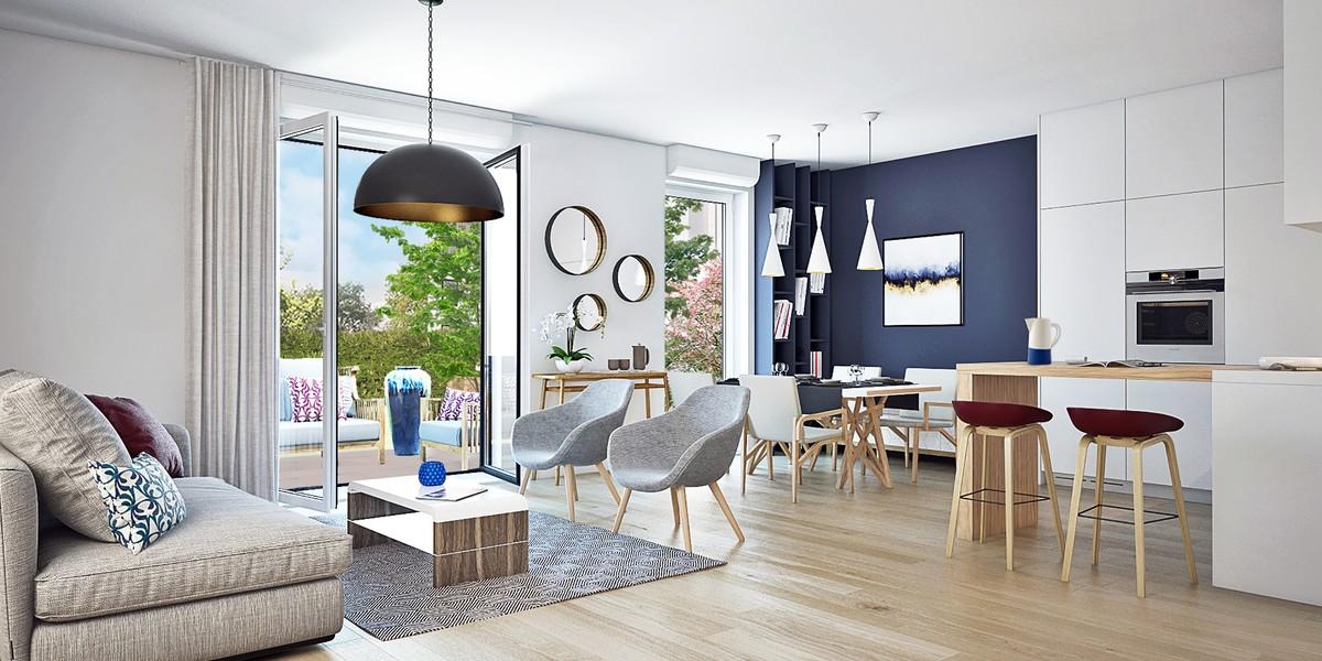 Appartement du programme immobilier neuf Canal Avenue à Clamart