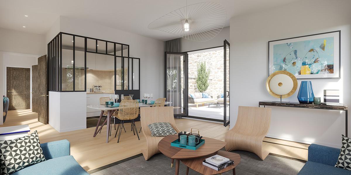 Appartement du programme immobilier Bac-Raspail-Grenelle à Paris 7