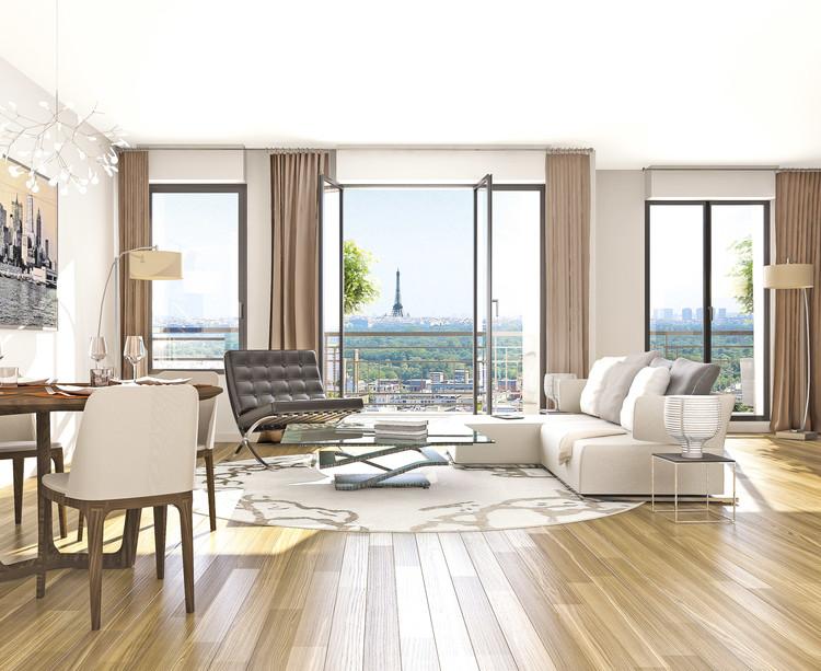 Appartement du programme immobilier 3 rue Jacques Decour à Suresnes