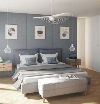 Chambre d'un appartement du programme immobilier Rue Agrippe d'Aubigné