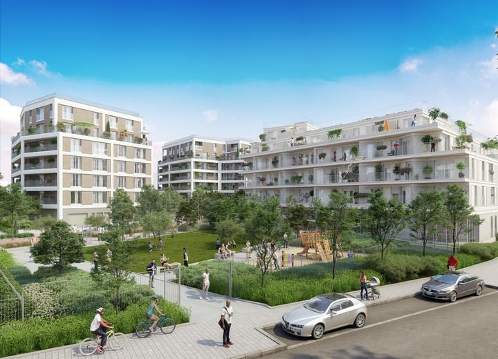 Programme immobilier Rue Edouard Renard à Pantin dans le quartier Les Pantinoises