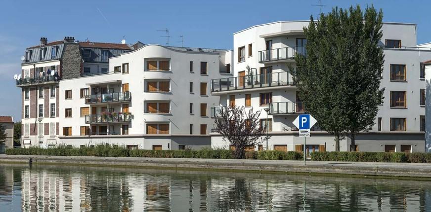 Les Terrasses du Canal à Saint-Denis
