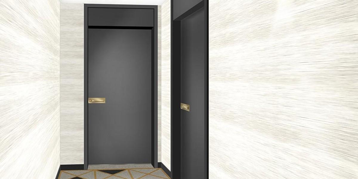 Palier d'étage du programme immobilier neuf Allée de Meudon à Clamart