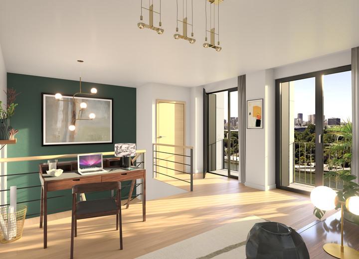 """Appartements du programme immobilier neuf """"Rue Agrippa d'Aubigné"""" à Paris 4"""