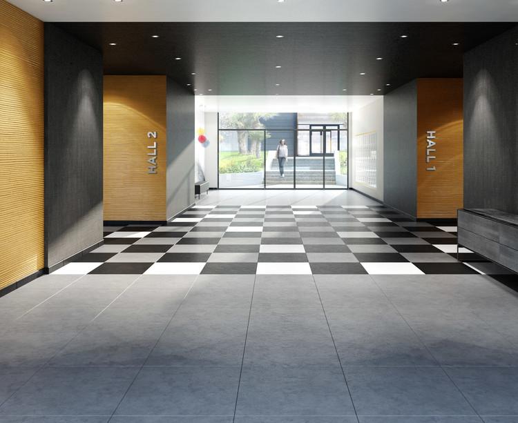 Hall d'entrée du programme immobilier neuf 72 Colonel Rochebrune à Garches