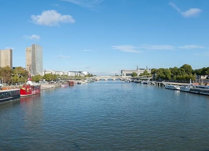 Le quartier Bruneseau au coeur de Paris Rive auche
