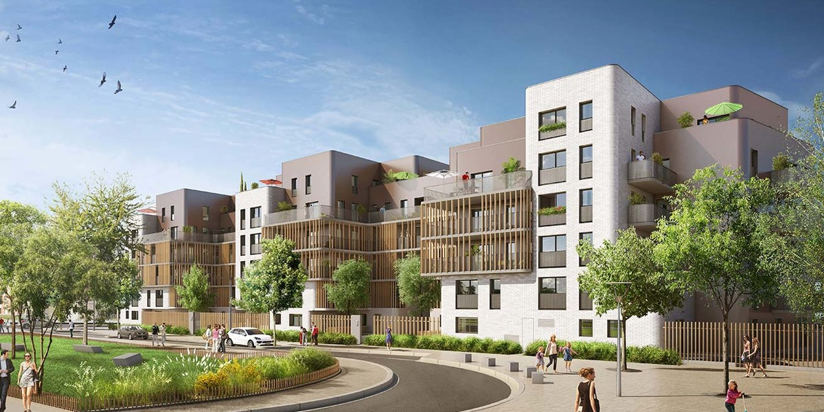 Programme immobilier neuf 5 Mail Cousteau à Massy