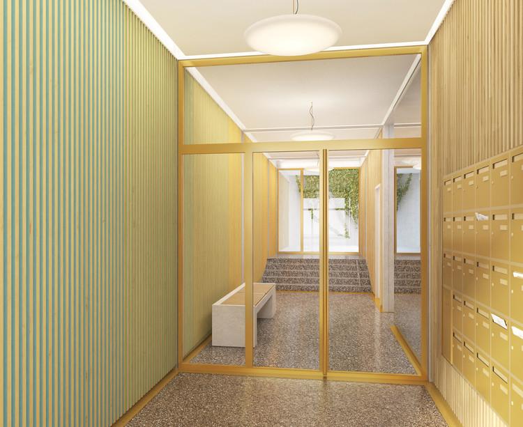 Hall d'entrée du programme immobilier neuf 5 Rue Erard à Paris 12