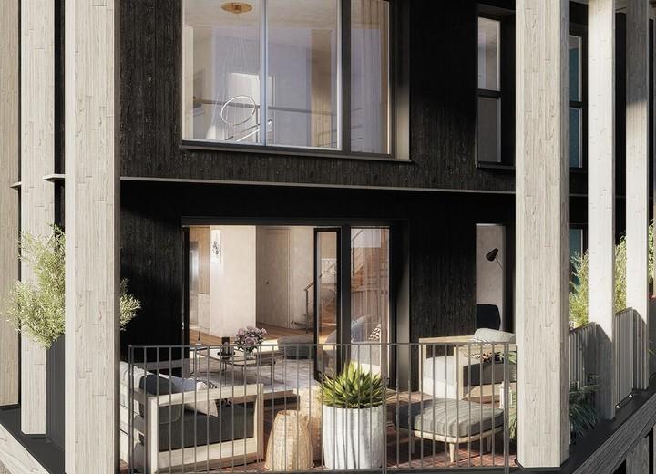Programme immobilier neuf en bois à Paris 13
