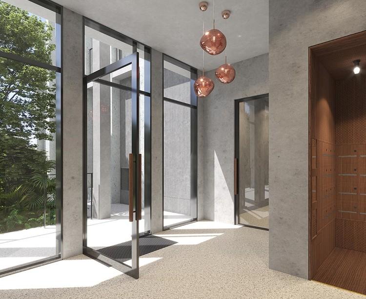 Hall d'entrée du programme immobilier neuf Le Berlier à Paris 13