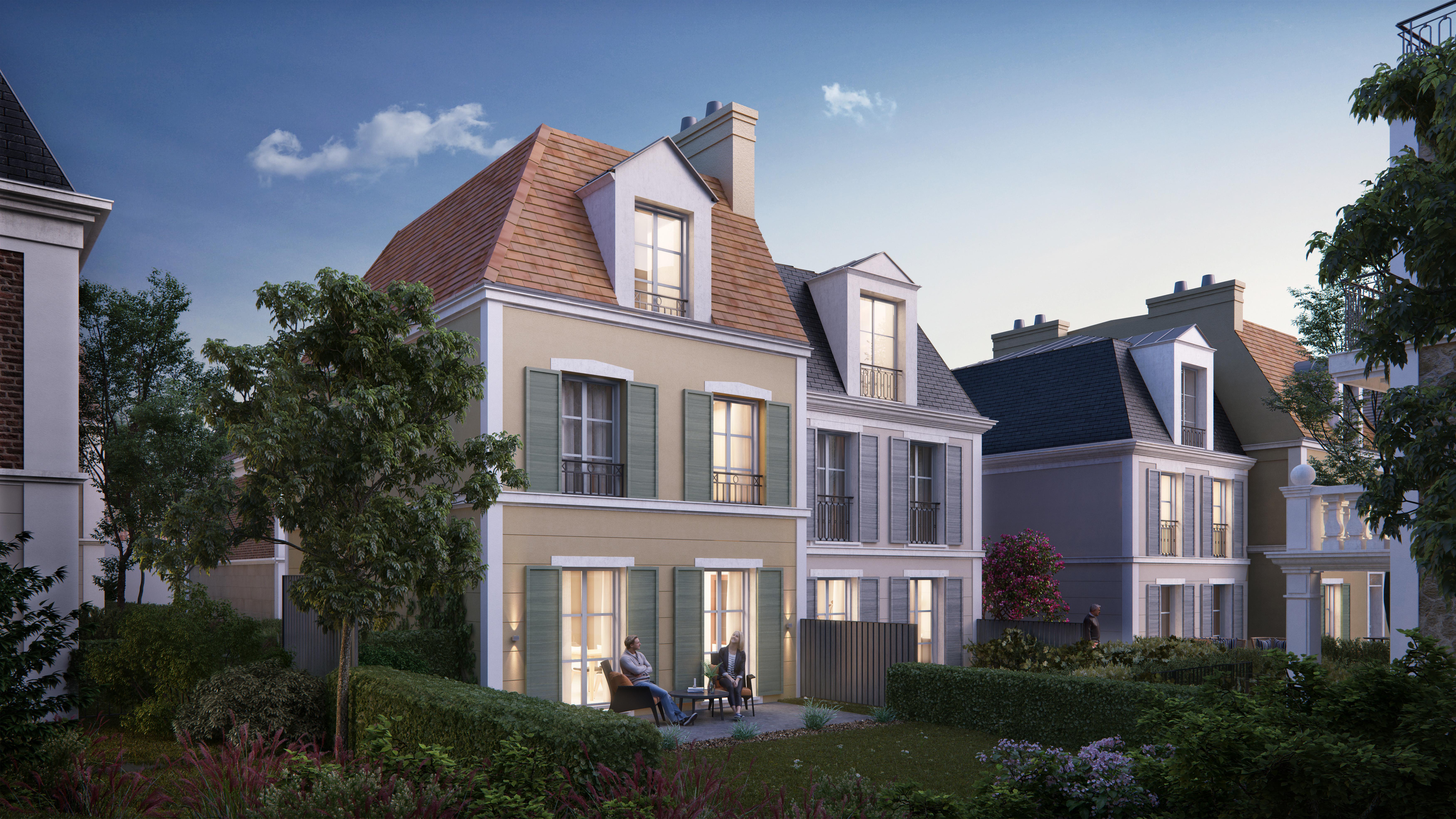 Allée de Meudon à Clamart : maison