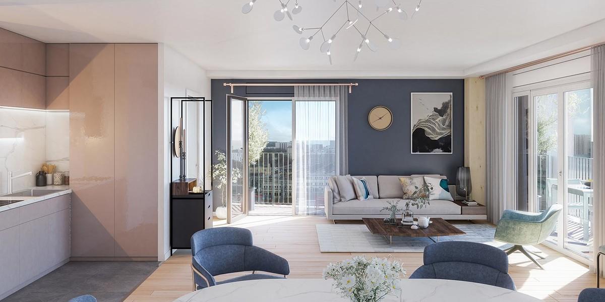Appartement neuf du programme immobilier Le Berlier à Paris 13