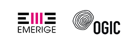 Double logo Emerige - Ogic