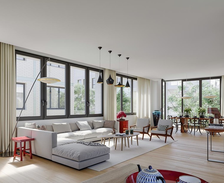 Appartement du programme immobilier neuf Bac-Raspail-Grenelle à Paris 7