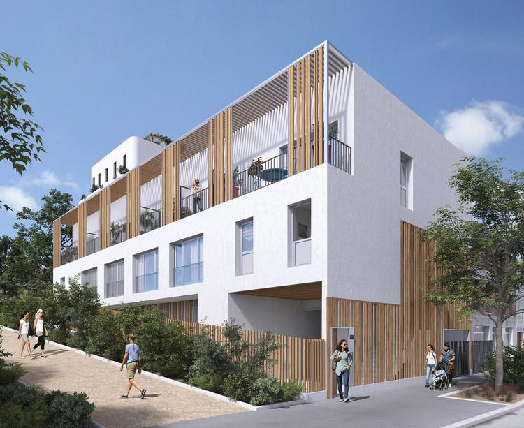 Immeuble Qwartz du programme immobilier neuf Variations à Vitry-sur-Seine