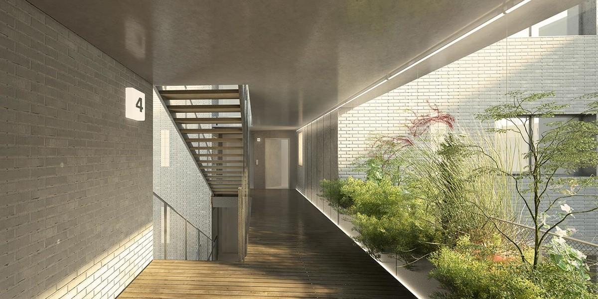Coursive du programme immobilier neuf 12 Popincourt à Paris 11
