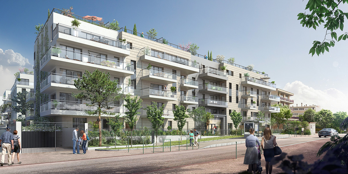 Programme immobilier neuf 72 Colonel Rochebrune à Garches
