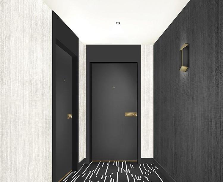 Palier d'étage du programme immobilier neuf Carré de l'Arsenal à Rueil-Malmaison