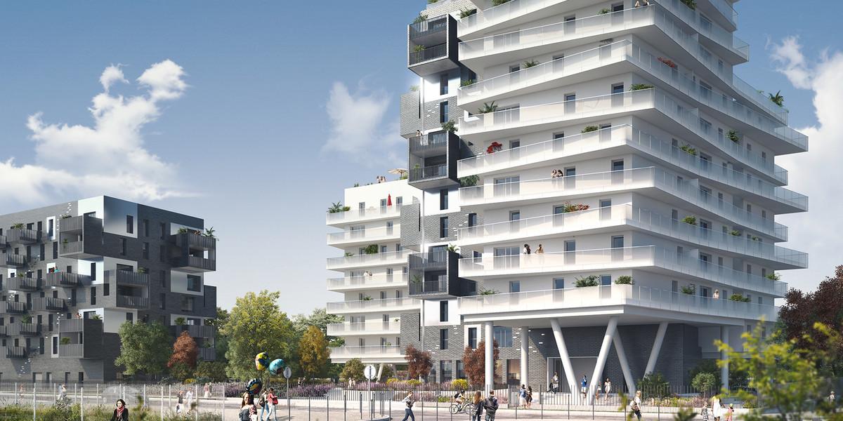 Programme immobilier Trilogie à Asnières