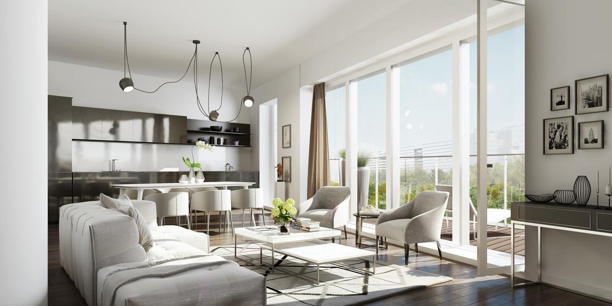 Appartement du programme immobilier neuf Unic à Paris 17