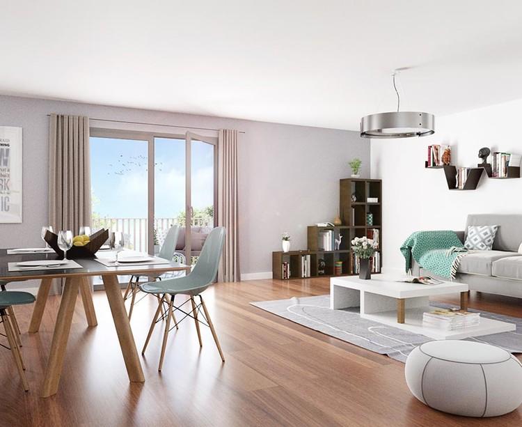 """Appartement du programme immobilier neuf """"Les Terrasses d'Aragon"""" à Villejuif"""