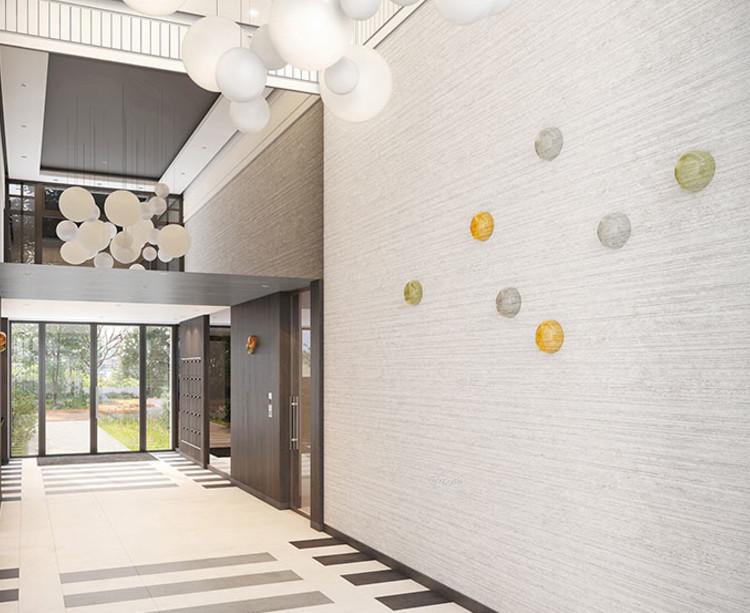 Hall d'entrée du programme immobilier neuf 1 Rue Roussel à Saint-Maur-des-Fossés