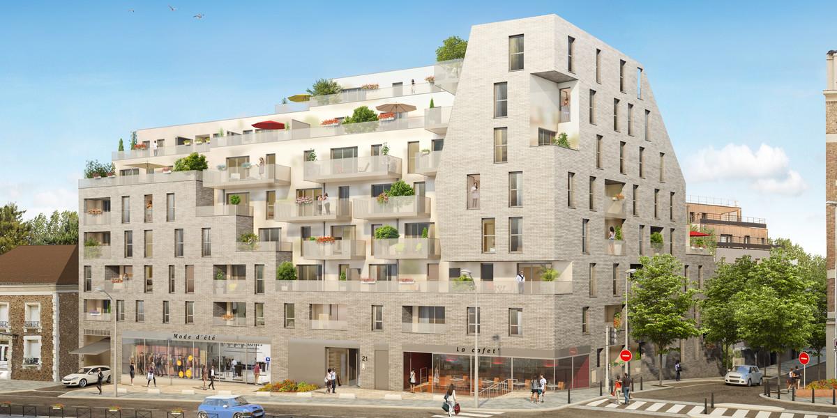Programme immobilier neuf 21 Jean Jaurès à Gentilly