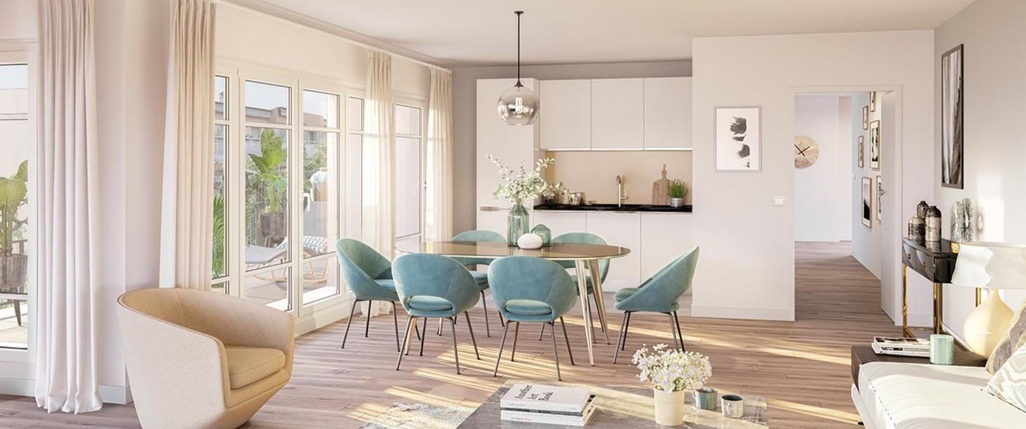 Appartement du programme immobilier neuf 120 Danton à Levallois