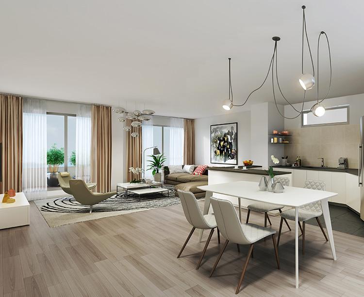 Appartement du programme immobilier neuf 23 Crimée à Paris 19
