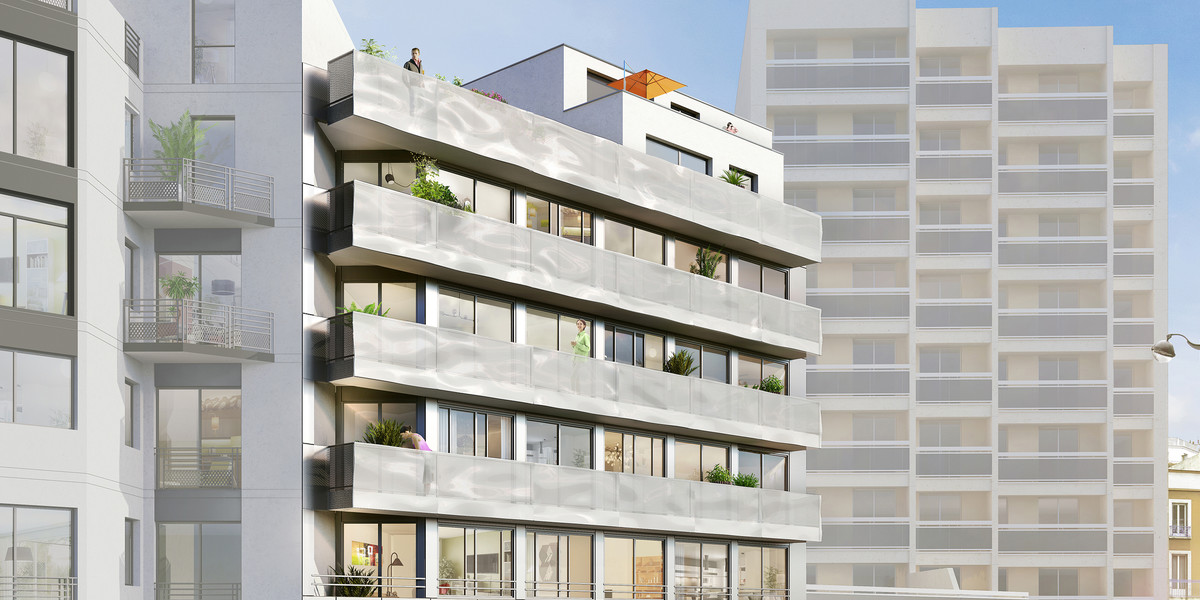Programme immobilier neuf 23 Crimée à Paris 19