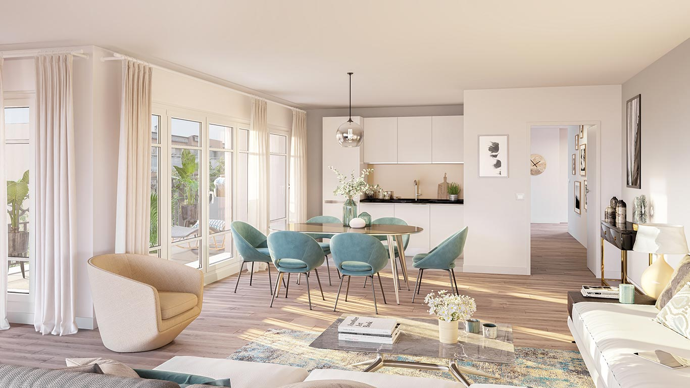 120 Danton à Levallois : appartement