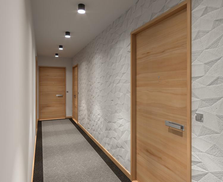 Palier d'étage du programme immobilier neuf 9 Charrière à Paris 11