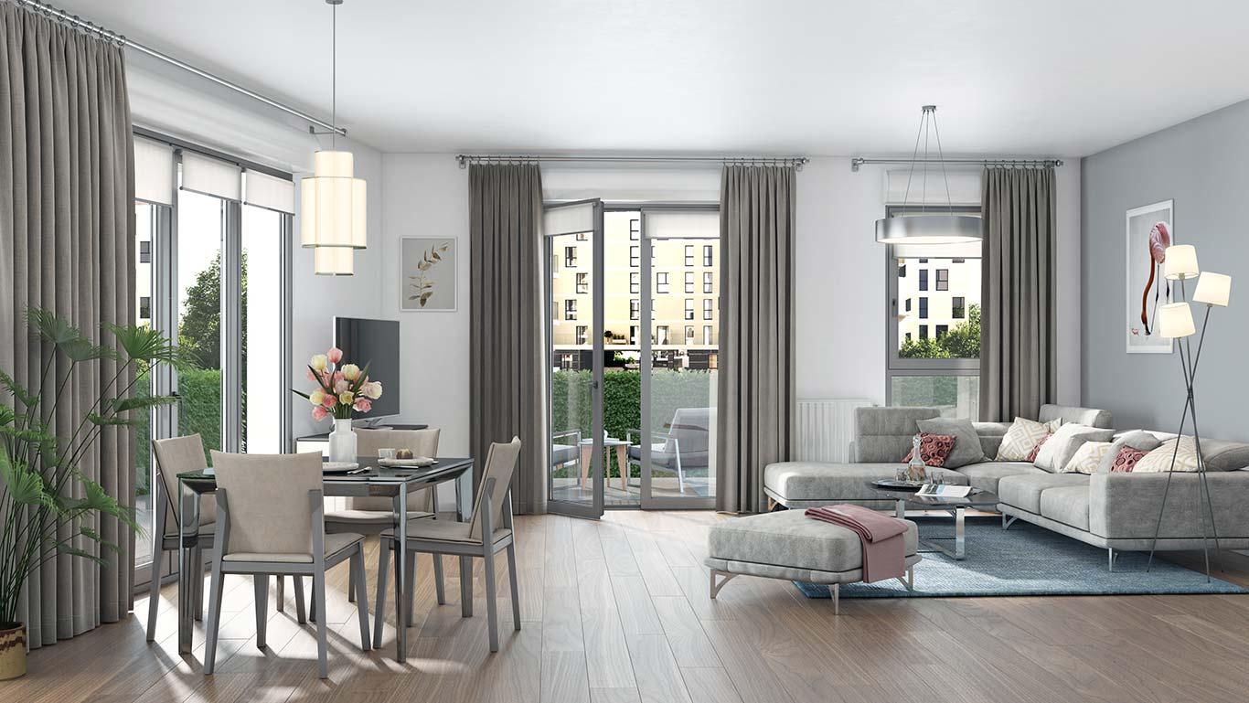 Programme immobilier neuf 1 rue de Craïova à Nanterre : appartement