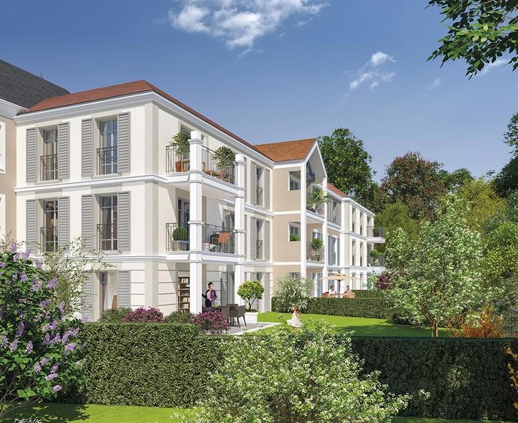 Jardins du programme immobilier neuf Avenue Lecomte à Villiers-sur-Marne