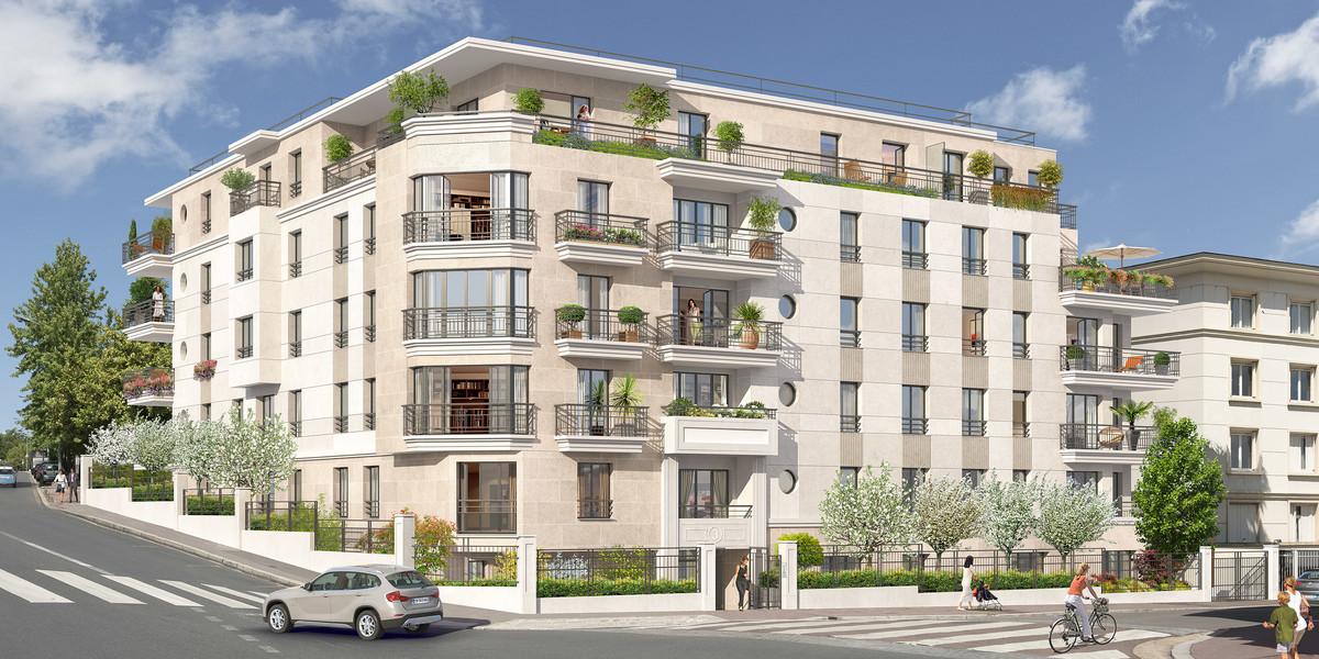 Programme immobilier 3 rue Jacques Decour à Suresnes
