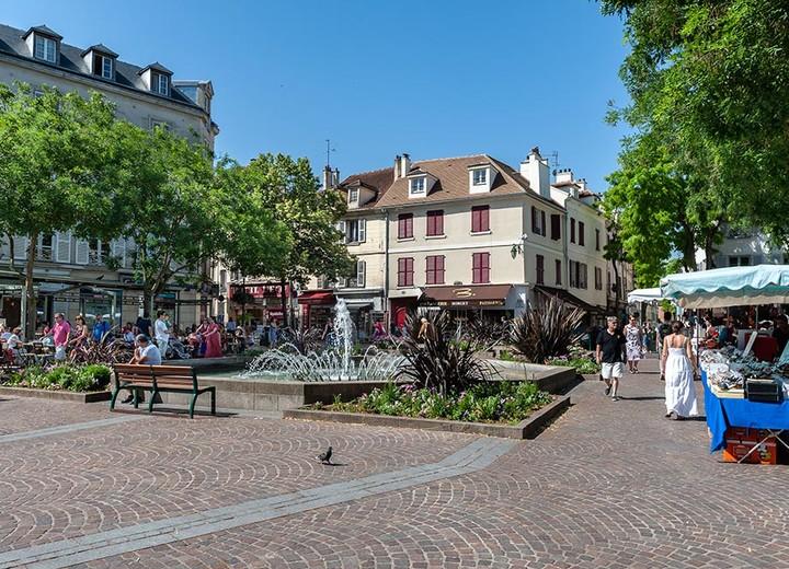 Rueil-Malmaisons dans le 92 (Hauts-de-Seine)