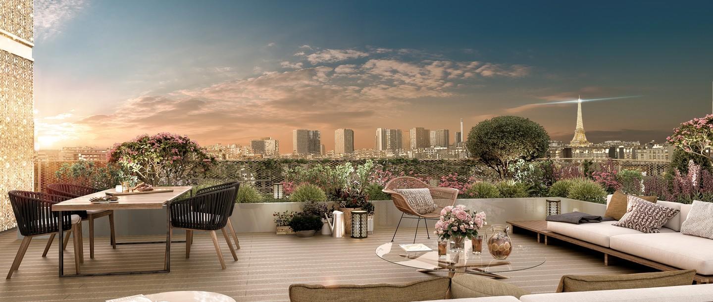 Programme immobilier neuf à Paris 15