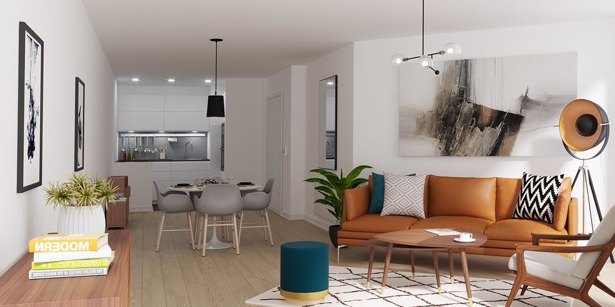 Appartement du programme immobilier neuf 23 Crimée à Paris 19