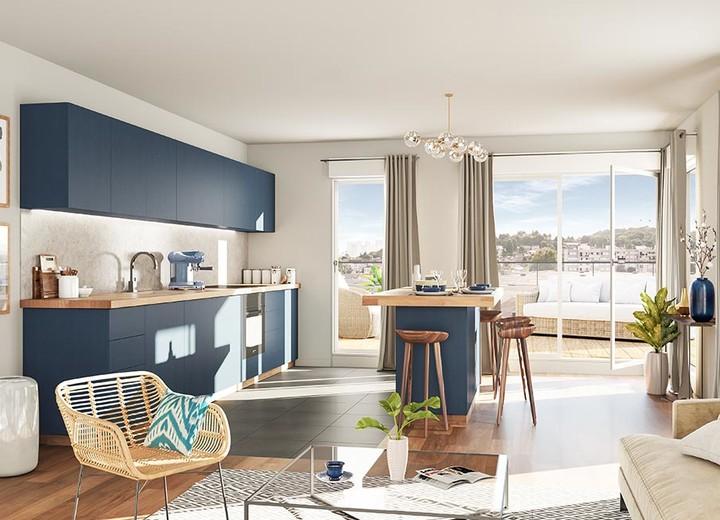 Appartement neuf du programme immobilier Carré de l'Arsenal