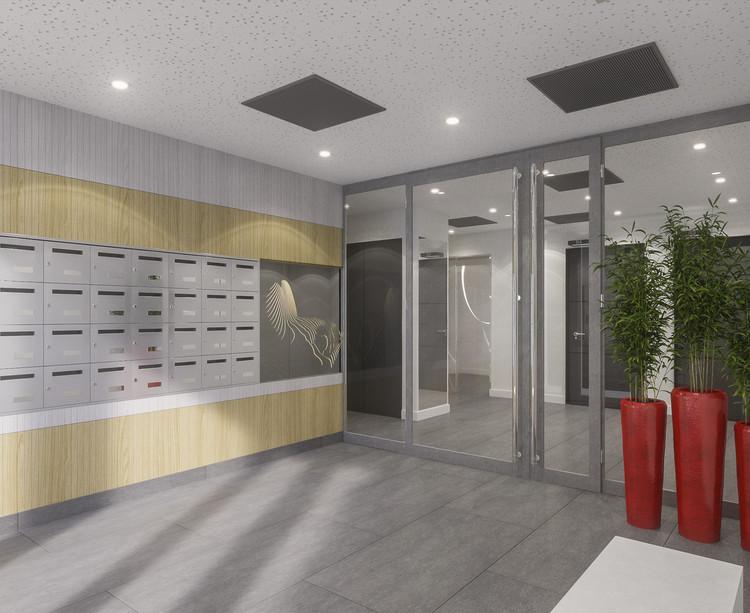 Hall d'entrée du programme immobilier neuf Variations à Vitry-sur-Seine