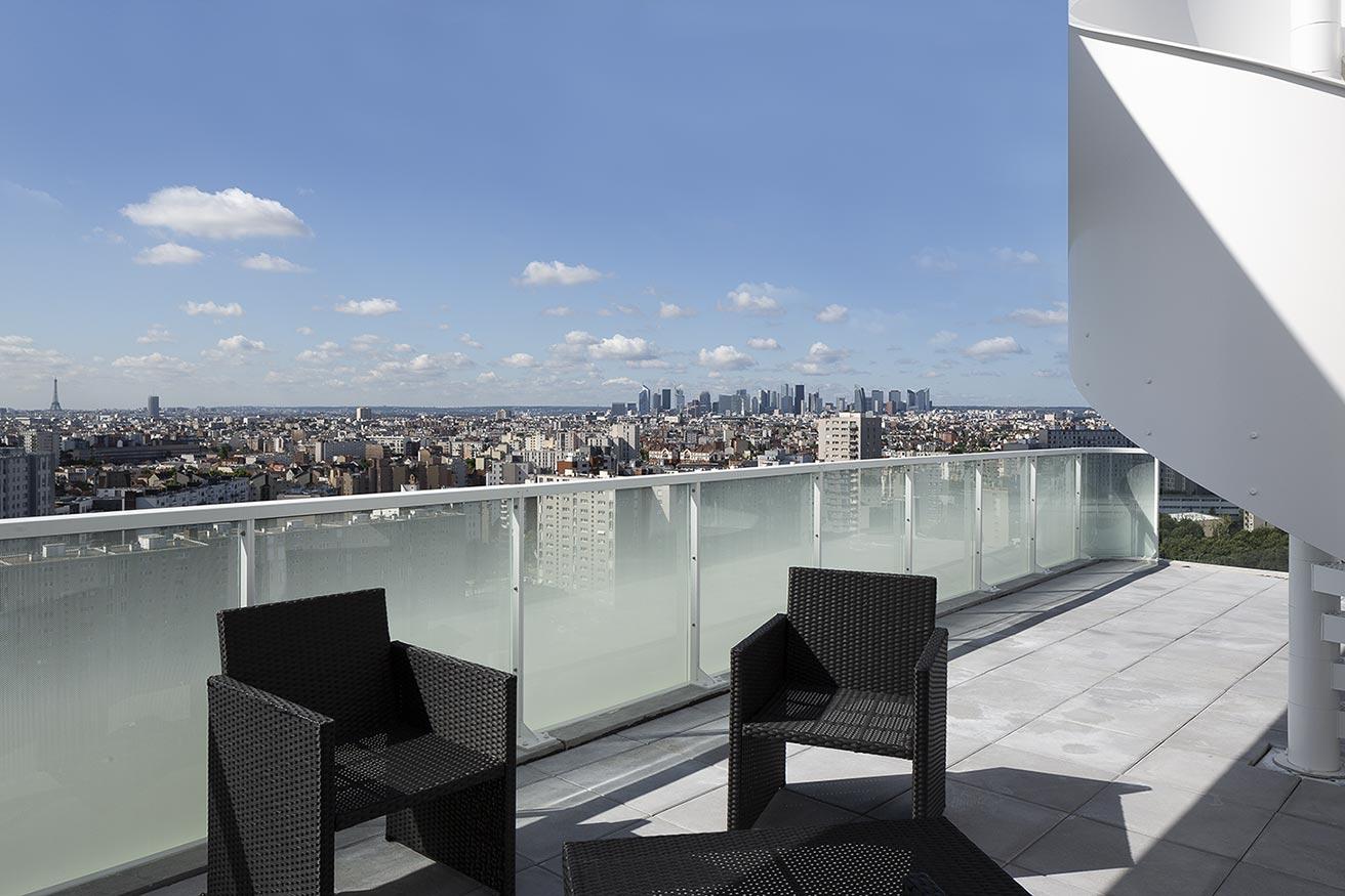 Appartement avec terrasse du programme immobilier neuf Trilogie à Asnières-sur-Seine