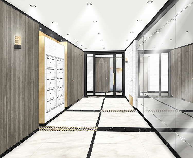 Hall d'entrée du programme immobilier neuf Allée de Meudon à Clamart