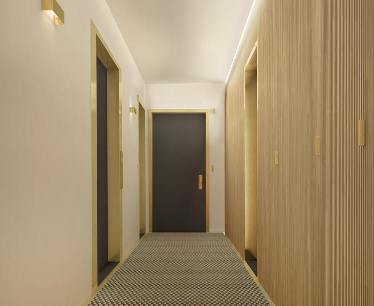Palier d'étage du programme immobilier neuf 5 Rue Erard à Paris 12