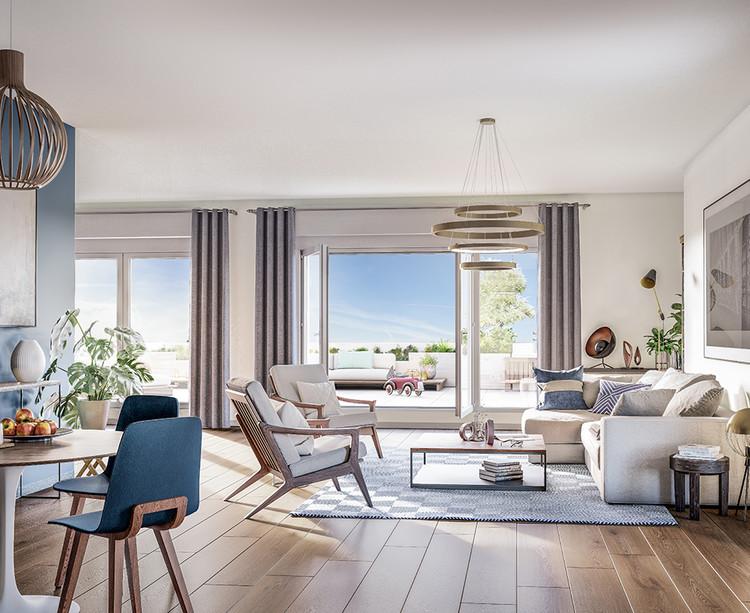 Appartement du programme immobilier neuf Vogue à Saint-Ouen
