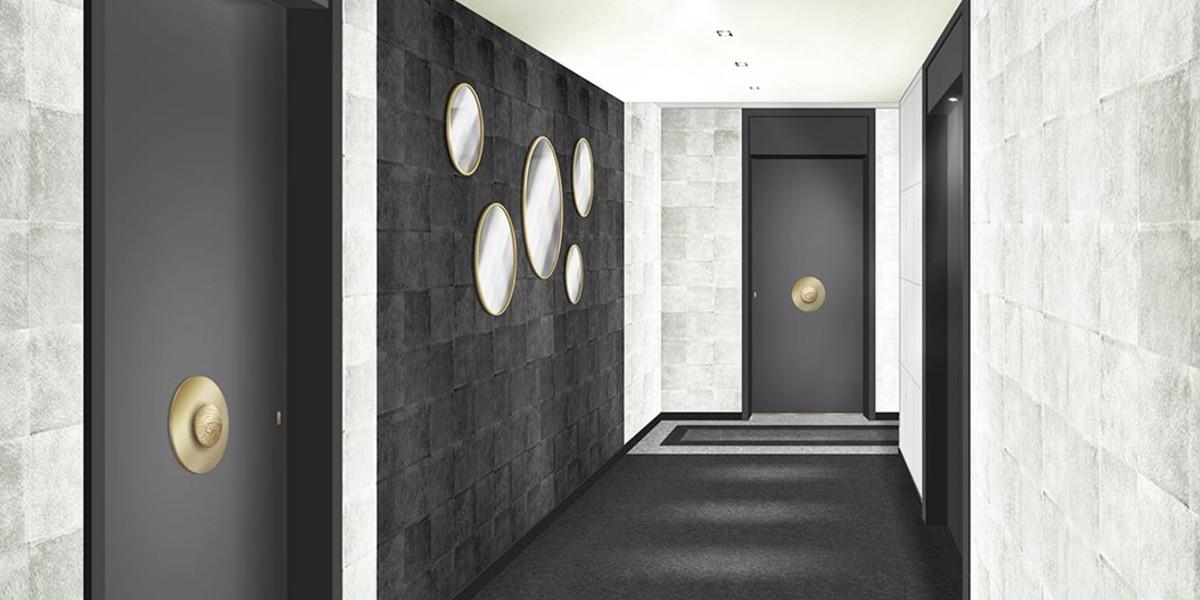 Palier d'étage du programme immobilier 3 rue Jacques Decour à Suresnes