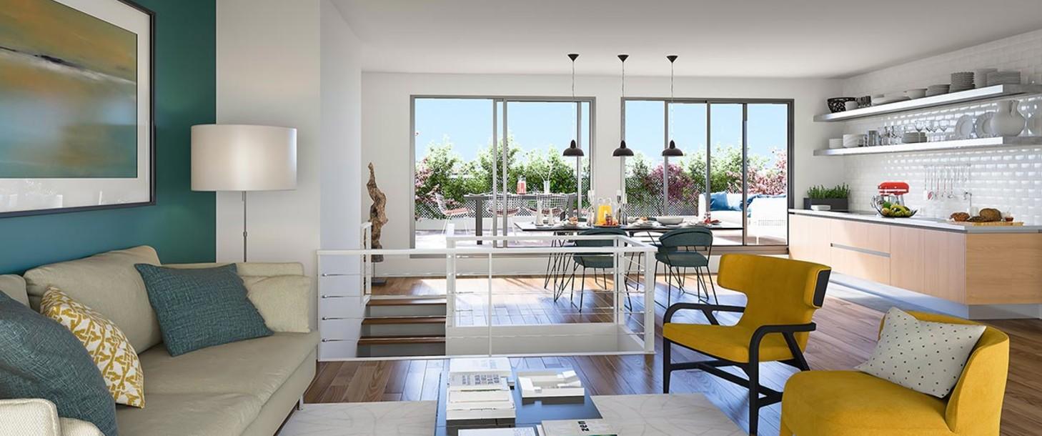 Appartement du programme immobilier neuf 12 Popincourt à Paris 11