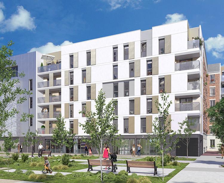 Programme immobilier neuf Mail de l'Hôtel de Ville à La Courneuve
