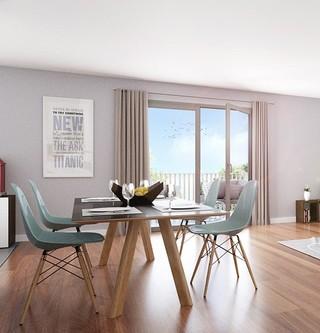 """Appartement neuf du programme immobilier """"Les Terrasses d'Aragon"""" à Villejuif"""