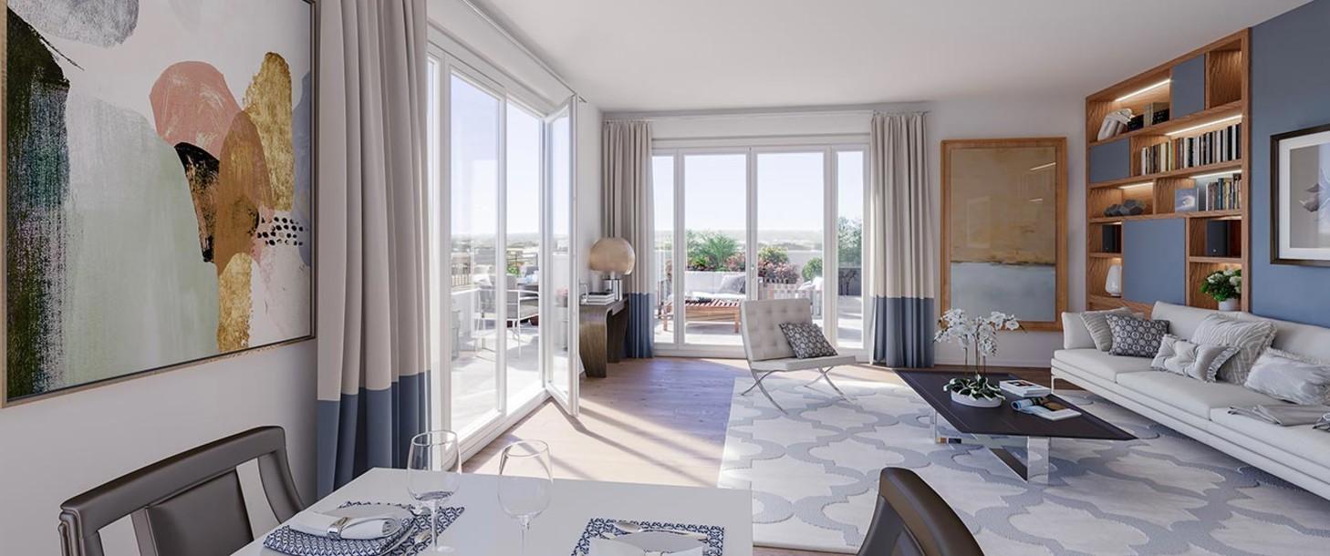 Appartement du programme immobilier neuf 1 Rue Roussel à Saint-Maur-des-Fossés